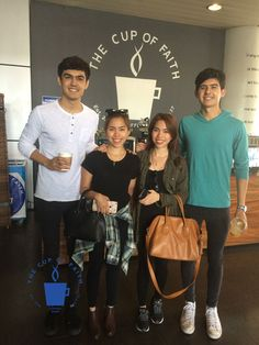 Twins at The Cup of Faith Patio at CCF Center, Philippines, Ortigas, Pasig.  info@thecupoffaith.com