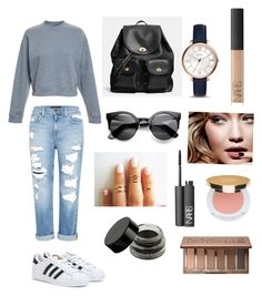 Casual and Simple by amour24xo on Polyvore featuring polyvore, fashion, style, Acne Studios, Genetic Denim, adidas, Coach, FOSSIL, Urban Decay, Isaac Mizrahi, NARS Cosmetics and Tom Ford
