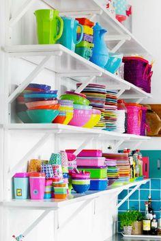 Vaisselle dépareillée - Attitude loft