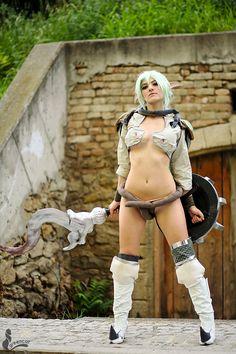 queen's blade echidna cosplay