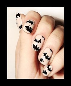 Halloween Nail Art -- Your No Halloween Costume Solution