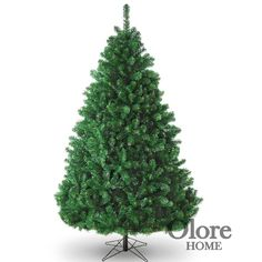 7ft Green Christmas Tree - Full Glacier Grand Fir - Artificial Christmas Tree
