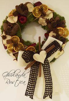 DIY Country Wreath  http://madewithlovefor.blogspot.it/2015/11/ghirlanda-rustica.html https://www.etsy.com/it/listing/267428699/ghirlanda-rustica?ref=shop_home_active_5