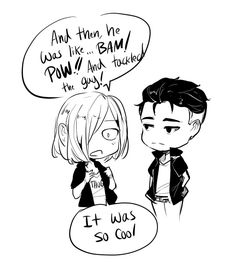 GOT THE NEXT PART DONE!!! WOOT WOOT! Yurio is only honest with Otabek it seems XD You can see Mafia pages 2 days before the public by becoming a 1 dollar patreon! o3o (see link in blog...