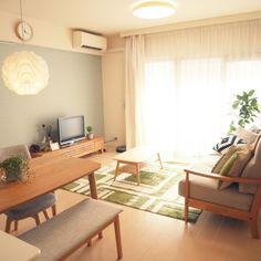 kane4さんの、リビング,観葉植物,ナチュラル,IKEA,一人暮らし,カフェ風,北欧,ニトリ,のお部屋写真