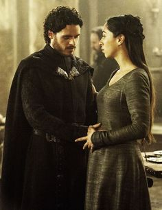 Game of Thrones: Robb Stark and Talisa Maegyr