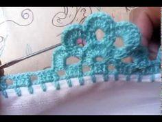 Crochet Boarders, Crochet Blanket Edging, Crochet Edging Patterns, Crochet Granny Square Afghan, Crochet Lace Edging, Crochet Designs, Crochet Stitches, Crochet Baby, Knitting Patterns