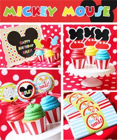 Free Printable Mickey Mouse Party Pack