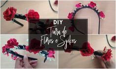 Heeey Pessoas!!! Tudo bem com vocês??     Finalmente trouxe o tutorial de como fazer aquela tiara de flores do vídeo de Maquiagem e Looks...