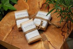 Organic Herb Soap Package by terururu, via Flickr Choco Loco, Soap Packing, Organic Herbs, Packaging Ideas, Commercial Photography, Soaps, Bath And Body, Scrubs, Projects To Try