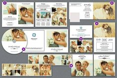 Photography Marketing Set  Professional by TemplateStock on Etsy