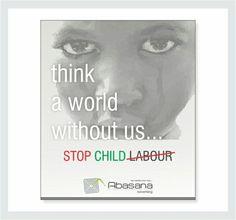 Stop child labour. Social Advertising, Children, Young Children, Boys, Kids, Child, Kids Part, Kid