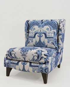 Find beautiful and modern fabrics and discover high quality Chivasso collections. Wingback Chair, Armchair, Funky Chairs, Colorful Furniture, Furniture Ideas, Blue And White China, Gorgeous Fabrics, Take A Seat, Best Interior Design