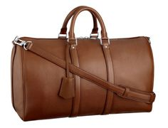 Louis Vuitton Keepall...the must-have and strongly recommendable bag for men.