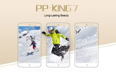 PPTV KING 7 3GB RAM 32GB ROM Helio X10 MTK6795 2.0GHz Octa Core 6.0 Pollici2.5D IPS 2K Screen Android 5.1 4G LTE Smartphone