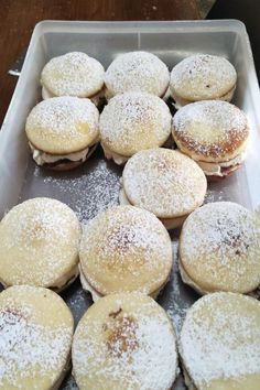 2 ingredient snow cakes the new Kmart pie maker baking trend you need to know about - Better Homes and Gardens: DIY, Renovation, Gardening Recipes Mini Pie Recipes, Cupcake Recipes, Sweet Recipes, Dessert Recipes, Cooking Recipes, Dessert Sauces, Cooking Food, Cookie Desserts, Brunch Recipes