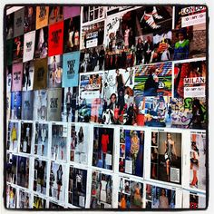 Love this for an office wall! Inspiration!