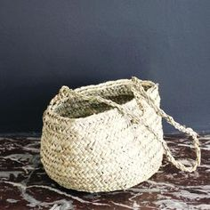 p panier on pinterest baskets market baskets and rope. Black Bedroom Furniture Sets. Home Design Ideas