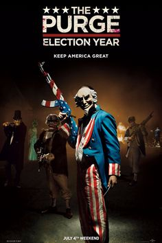 Brace Yourself For the Horrifying Trailer For The Purge: Election Year