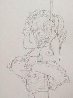 夏休み、どこに行く?por Eisakusaku  no te olvides de ser detallista *___* como que le da buena vibra :v