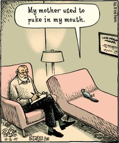 Oh, the life of a therapist...