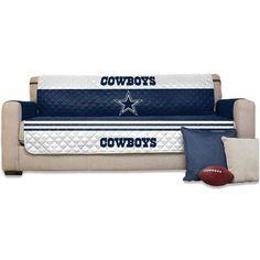 """Dallas Cowboys 75"""" x 110"""" Sofa Water-Absorbent Furniture Protector - Fanatics.com"""