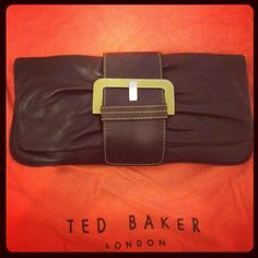 Ted Baker clutch - perfect for chic daytime look...