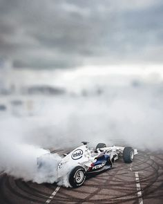 sauber BMW F1 drift!