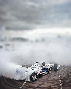 sauber BMW F1 drift!
