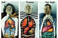 artist autopsy. Creepy but yet fascinating