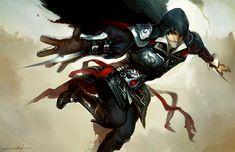 Ezio by ~fayrenpickpocket on deviantART