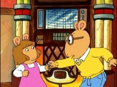 Say what you want about Arthur. This show taught me a lot about life and dealing with difficult issues. Arthur and D.W. are SO much like my brother and me!