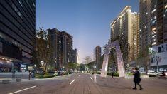 东莞广发片区城市品质提升工程 / AUBE欧博设计 Dongguan, Public, Street View, Urban, Conception, Dawn