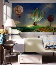 Up, Up And Away - Hot Air Balloon Room - Design Dazzle