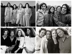 Nicholas Nixon - The Brown Sisters: Nixon has photographed the same sisters every year for decades.