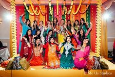 Asian Mehndi Party : Mehndi party groom traditions http: maharaniweddings.com gallery