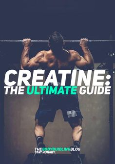 Check out the Ultimate Guide to Creatine! Creatine is considered to be one of the most important and valuable supplements on the fitness market. It increases your strength, muscle growth, power output, cognitive capacity, decreases lactic acid, and those are just to name a few. If you're looking for a supplement that will help you get bigger and stronger - creatine is definitely the one! Check out the Ultimate Guide to Creatine - there is even an infographic there!