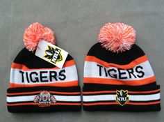NRL Knit Hats 021 TIGERS Beanies Hats 8104! Only $7.90USD