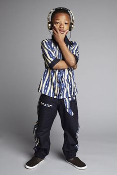 Over 150 Kitenge Designs: Best Kitenge Fashion Ideas for 2020 Little Boy Fashion, Toddler Fashion, Kids Fashion, African Dresses For Kids, African Children, Kitenge, African Attire, African Wear, African Shop