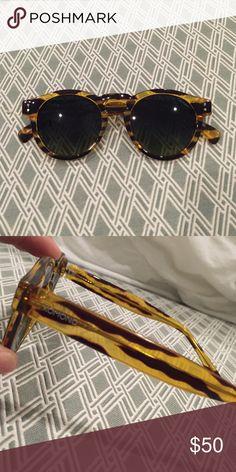 Komono Clement Tortoise brand new sunglasses dark green lense, tortoise color body, unworn, no box unfortunately Komono Accessories Glasses