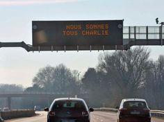 photo partagée par Vinci Autoroutes sur Twitter, le 8 janvier.