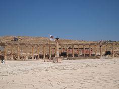 Jerash, esplendor en sus ruinas romanas Foto cedida por M. Inglada