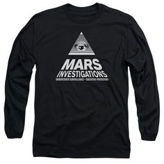 VERONICA MARS/MARTS INVESTIGATIONS-L/S ADULT 18/1-BLACK-SM