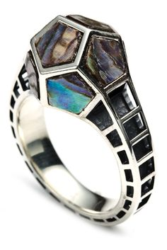 Abalone/Silver