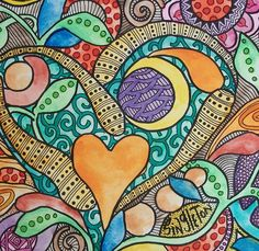 Neon Love Crush, Singleton Hippie Art