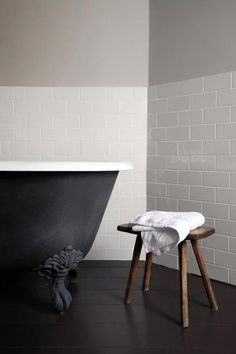 matt black bath
