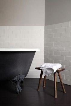matt black bath