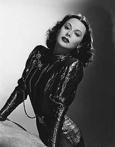 "Hedy Lamarr      ""That's HEADLYLeMar""  Blazing Saddles... :)"