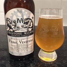 Feral Vinifera from @firestonewalker #barrelworks one of the awesome beers we brought back from our trip