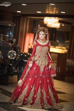 Red Dulhan Maxi in Lahnga Shape.Bridal Lahnga Maxi With Pure Dabka Nagh Zari And Pearls Work.Walima Bridal And Groom Dresses Available In All Sizes. Pakistani Mehndi Dress, Bridal Mehndi Dresses, Walima Dress, Pakistani Wedding Outfits, Indian Bridal Wear, Pakistani Wedding Dresses, Bridal Outfits, Bridal Lehenga, Red Lehenga